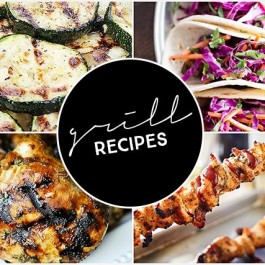 Grill recipes that are sure to inspire you this grilling season! livelaughrowe.com