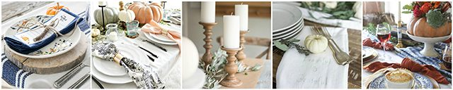 TEN beautiful fall tablescapes to inspire you! livelaughrowe.com