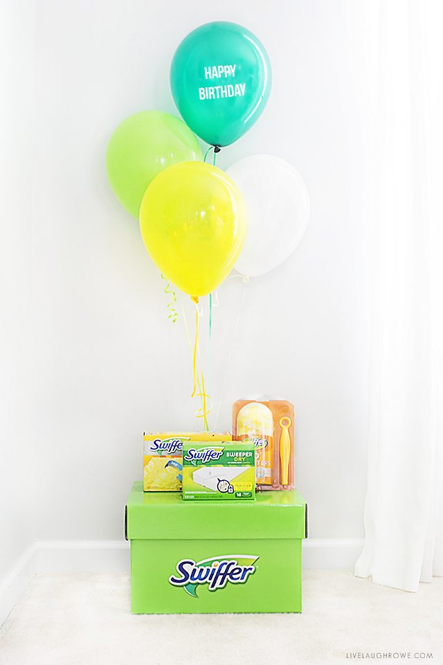 Happy Birthday, Swiffer! Let's Party Like It's 1999. livelaughrowe.com