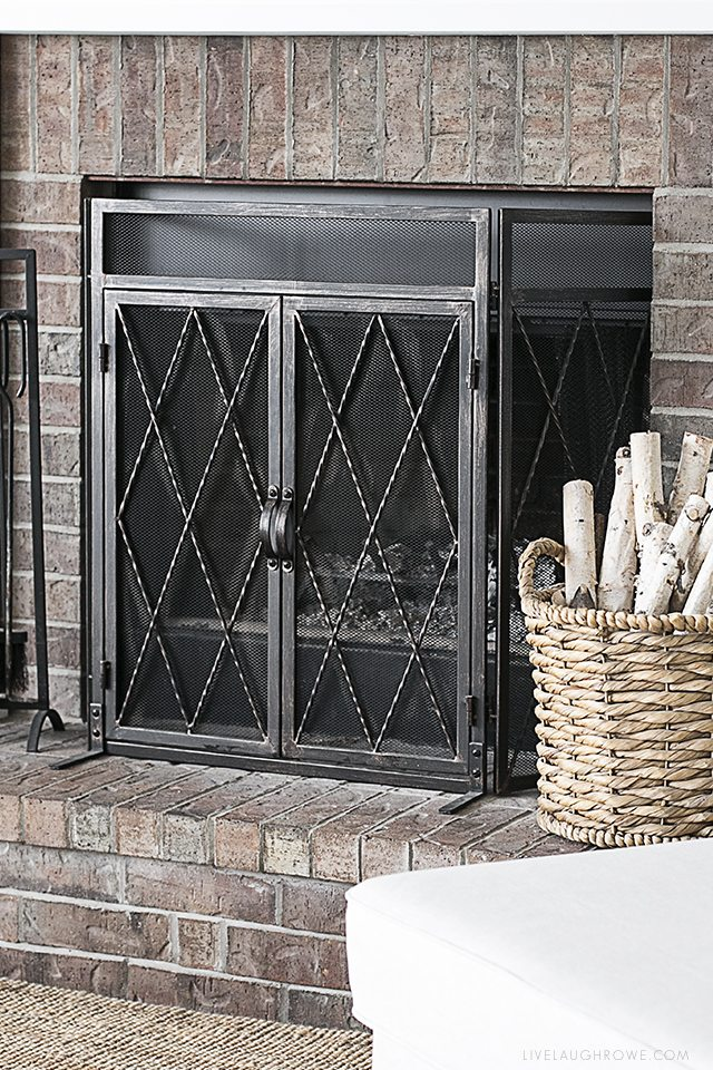 Is your fireplace and hearth on your spring cleaning checklist? livelaughrowe.com