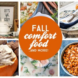 Fall Comfort Food Recipes and more for meal planning and entertaining this season. livelaughrowe.com