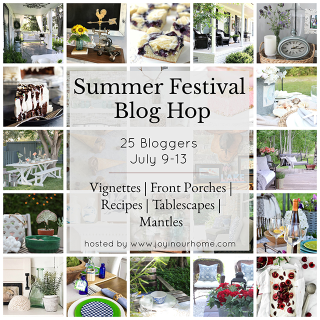 Summer Blog Hop filled with inspiration --- from recipes to home decor and more! livelaughrowe.com