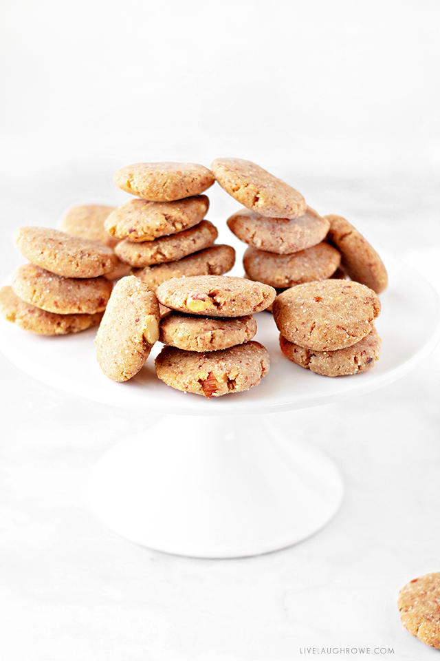 Keto Peanut Butter No-Bake Cookies on a plate