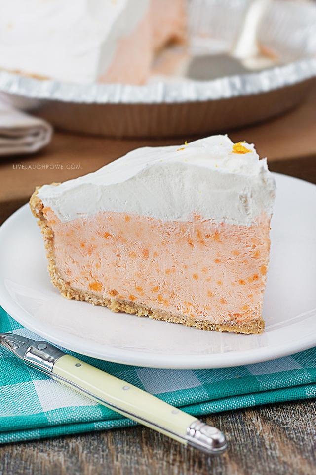 Delicious Slice of Creamsicle Pie