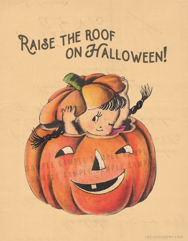 Free Halloween Printable Image
