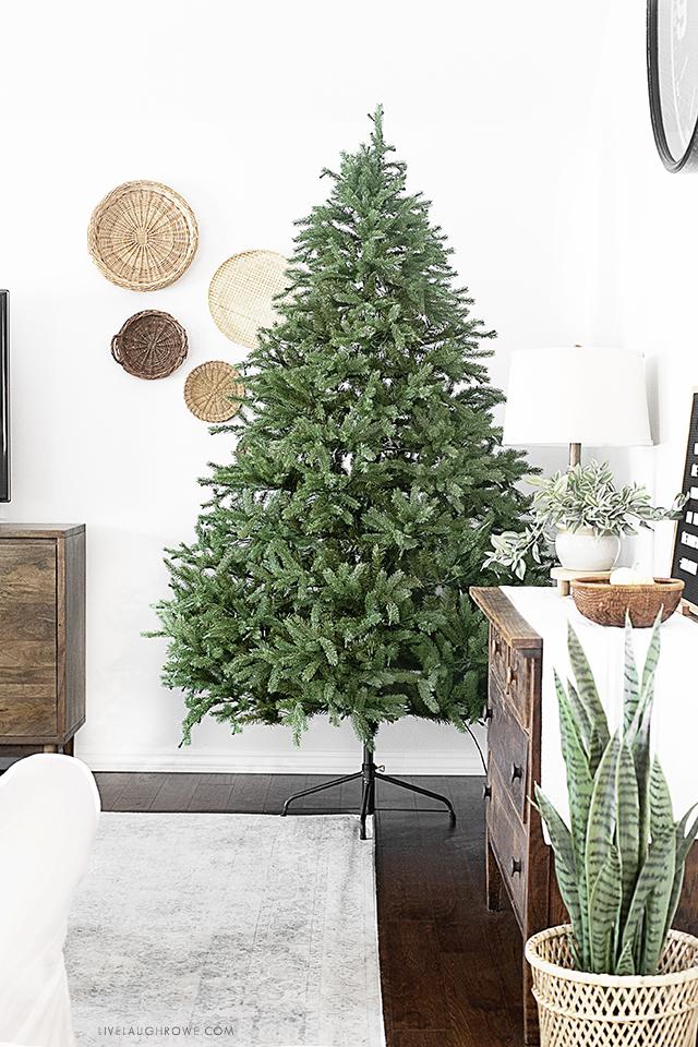 Home Depot Noble Fir Tree