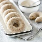 Donuts and Bowl of Cinnamon Sugar