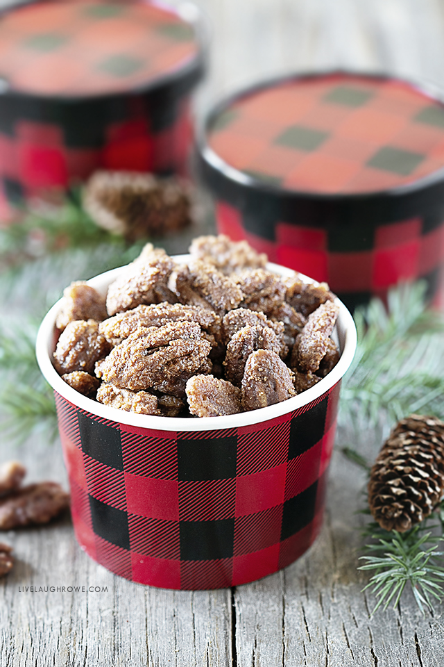 Festive Bowl of Nut Snack