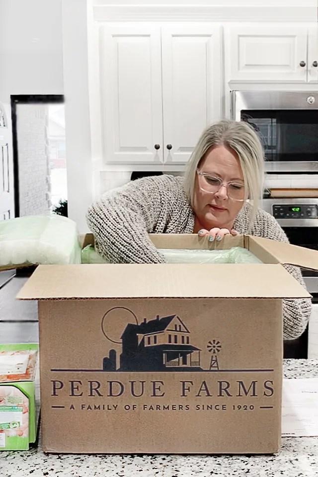Unboxing Perdue Organic Chicken Bundle