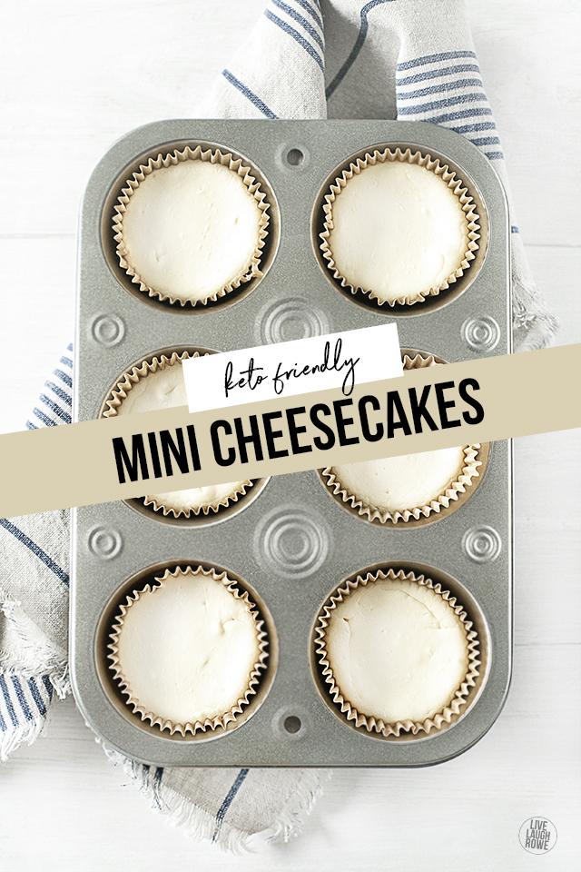 Mini Keto Cheesecake Recipe
