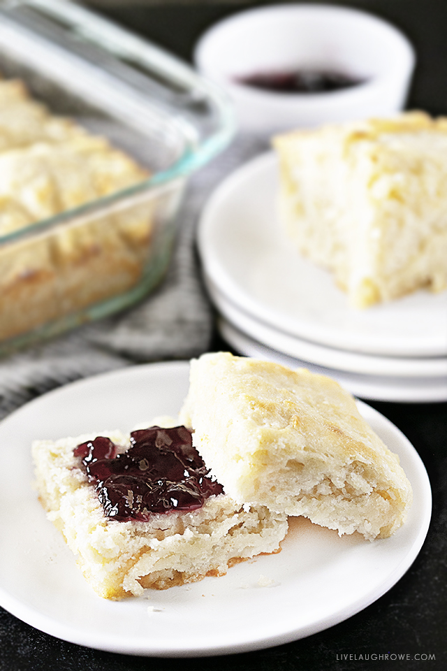 Butter Biscuit with Jelly