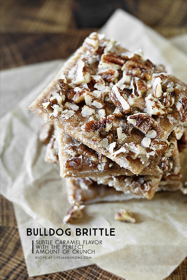 Brittle Made with Graham Crackers