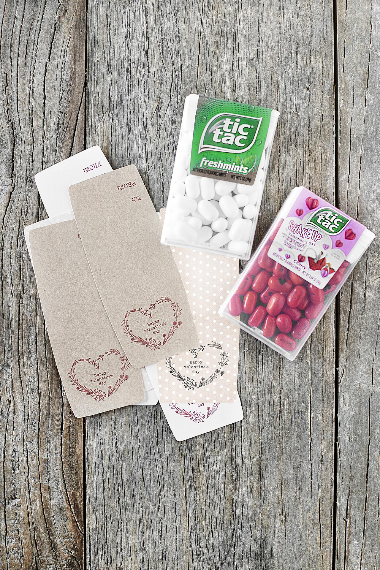 Supplies for Valentine's Day Treat