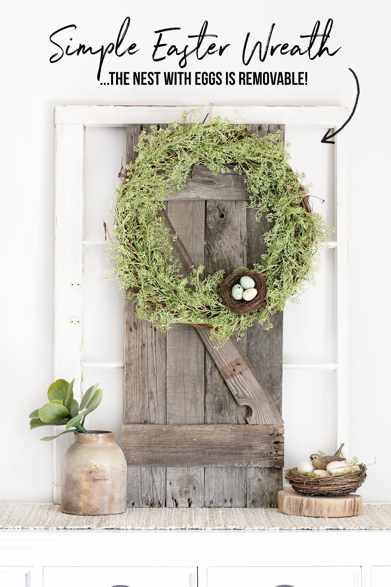 Easter Garland Wreath