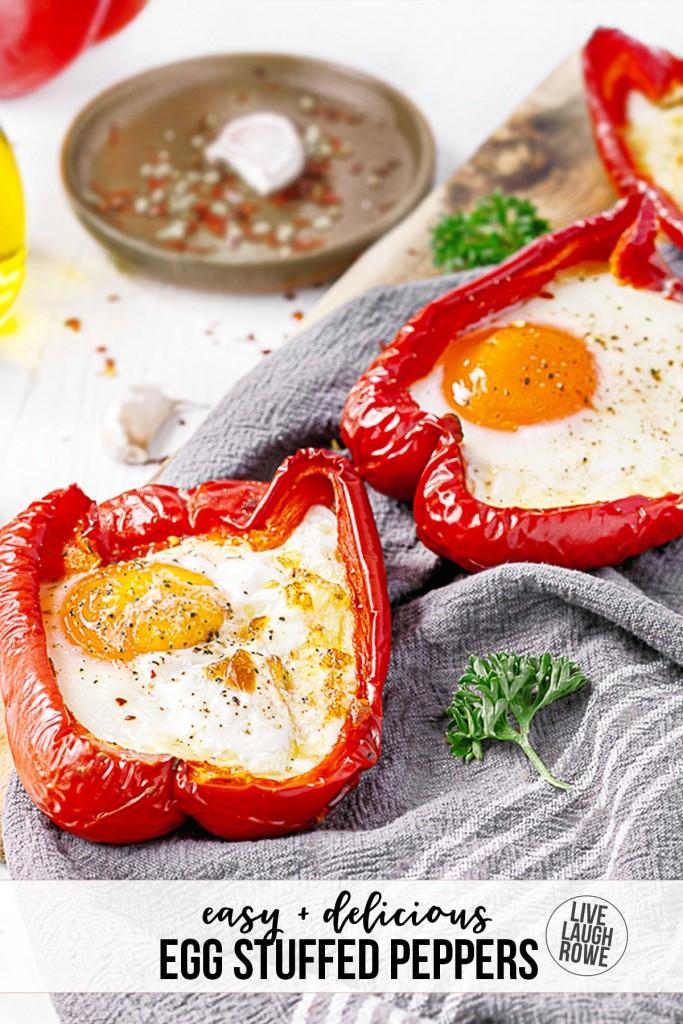 Egg Stuffed Peppers