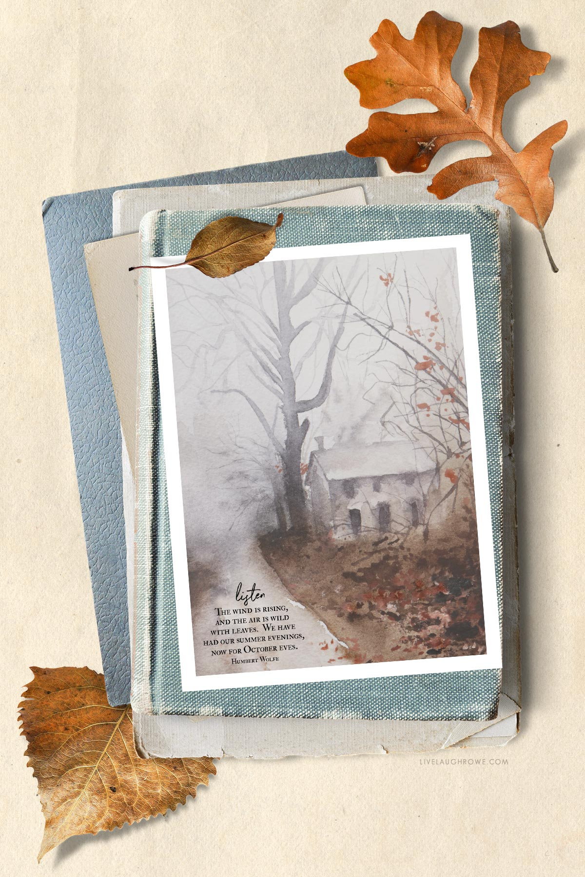 Styled Fall Printable