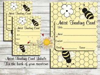 Bumble Bee ATC Labels