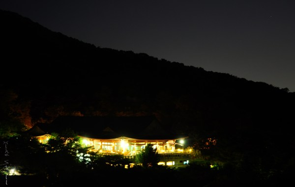 Night view from Bukaksan