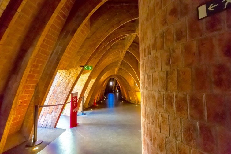 La Pedrera Casa Milla Catenary Arches