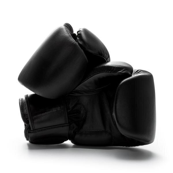 UNIT NINE Black Panther Leather Boxing Gloves