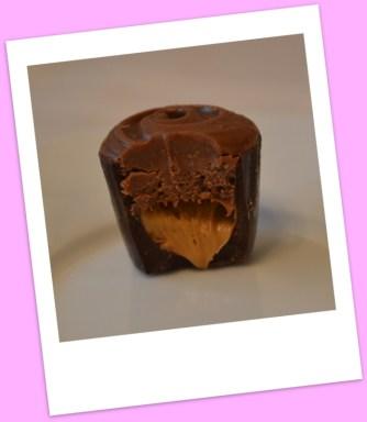 Gianduja on a base of hazelnut paste.