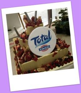 Total Greek's HUGE Birthday cake created by Eric Lanlard