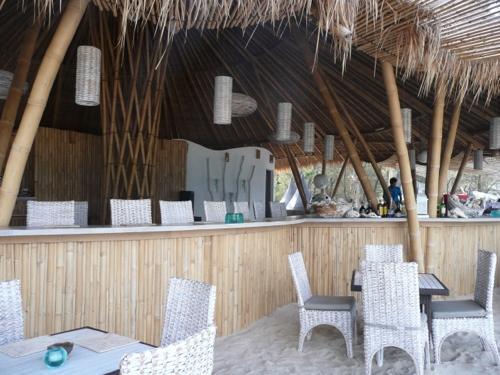 Karma Beach Bali, penne rigate, Davide Bianchi, paella Valencia, Mykonian meatballs, tzatziki, Karma Beach Resort, Indonesia, karma, panna cotta, octopus, Gili Meno, Mowie's, Gili Air, Asia, restaurant, The Reef Resort, Chakra, beach-front, bungalows, Gili Meno Eco Hostel, Ily, latte,