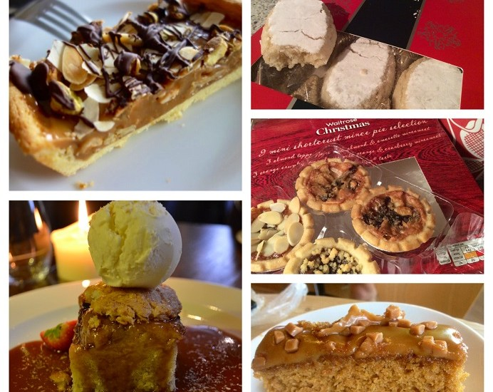 sweet treats, ecclefechan, mince pies, mince tarts, Christmas, Waitrose, The wheelwright arms, wheelwright, Havant pub, Upham brewery, Upham, pineapple upside down cake, upside down cake, pebbles, stoke bay, Gosport, cycling, cycling club, toast, coconut ice-cream, caramel sauce, rum caramel sauce, waitrose, Tuscan, Adrian amici, Ricciarella, mince pies, Naughty Boy Cafe, Naughty Boy, Carlton North, Melbourne, Australia, blog post, mother & daughter bloggers, mother & daughter food bloggers, food blogger, Melbourne food blogger, Melbourne food & travel blogger, food & travel blogger, Helen Newman blogger, salted caramel,