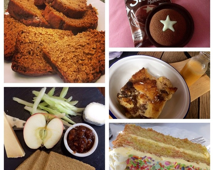 sweet treats, this week's sweet treats, cheese, cowdray, Cowdray Farm Shop & Cafe, Midhurst, West Sussex, cake, confetti cake, Beceries, Gracie-Ann's, Gracie, Pan di Stelle, Mooncake, banana bread, cattle Station, cowgirl, Fitzroy Crossing, recipe, brioche, brioche bread & butter pudding, Crate & Apple, Chichester, custard