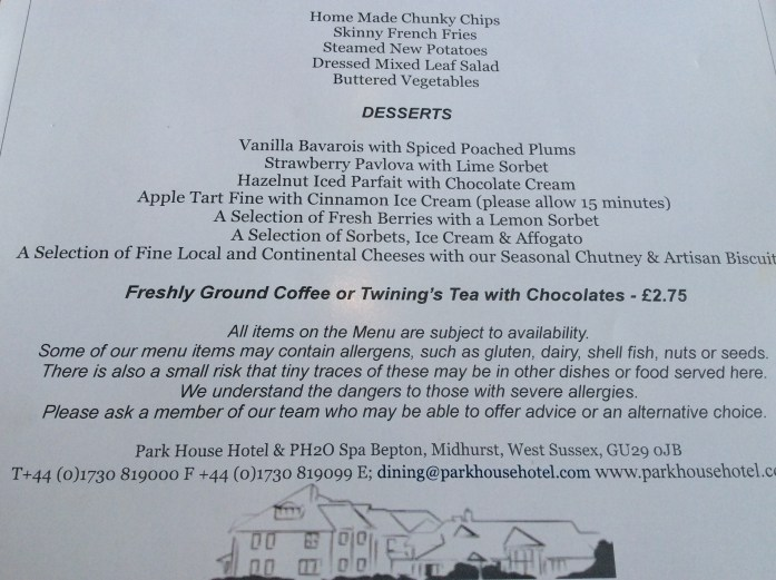 Coffee & chocolates, Park House Hotel & Spa Bepton, Bepton, Midhurst, Park House Bepton, Park House Midhurst, Spa Bepton, Spa Midhurst, Midhurst, afternoon tea, lunch, amuse Bouche, pork belly, spiced bread, cheese board,