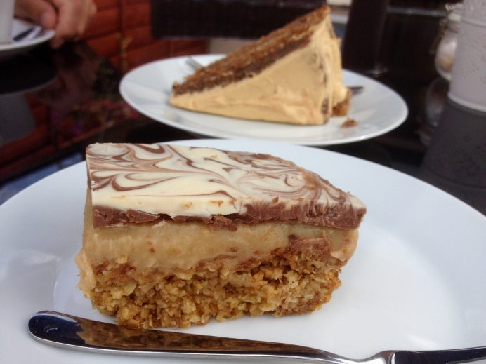 Wonderland Cafe, Wonderland Cafe Baffins. Wonderland Cafe Copnor, Baffins cafe, Copnor cafe, Wonderland Cafe livelifelovecake, Wonderland Cafe food blog, Wonderland Cafe review, Wonderland Cafe portsmouth, coffee & walnut, millionaire flapjack, all day breakfast Portsmouth, food blog, food blogger, fish & chips Portsmouth, pulled pork, Lavazza, Lavazza coffee, Lavazza livelifelovecake