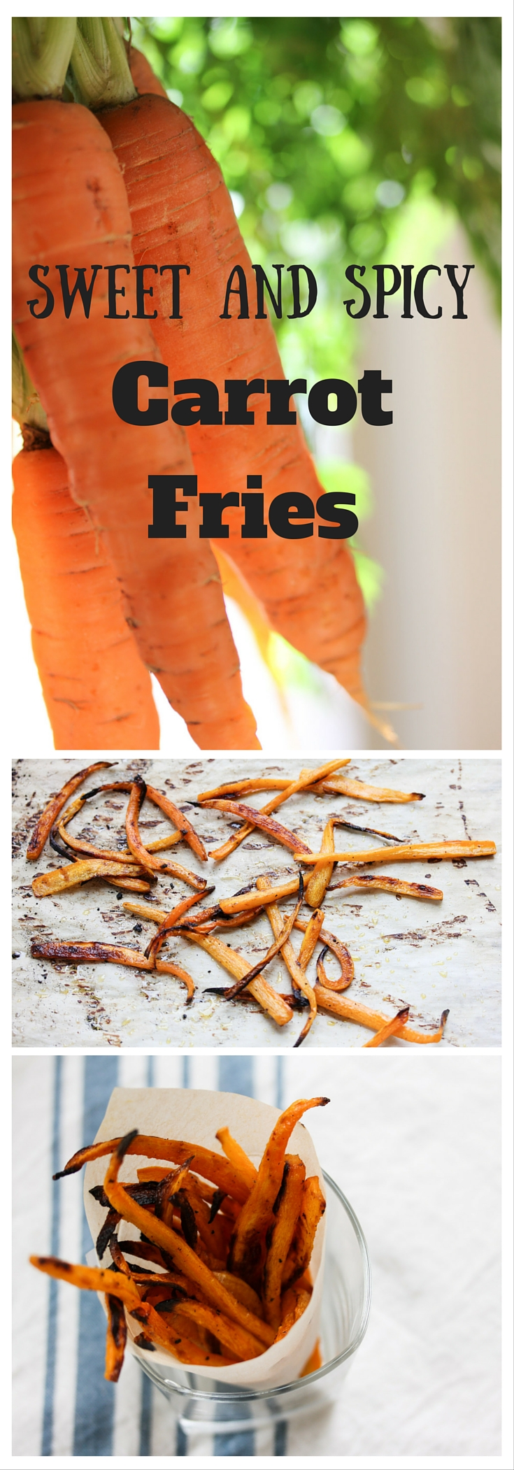 Sweet and Spicy Carrot Fries