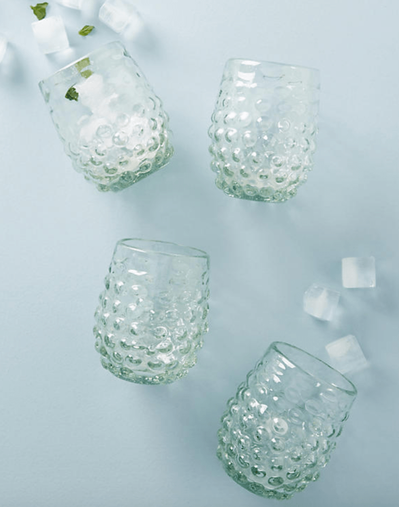 Textured Stemless Wine Set
