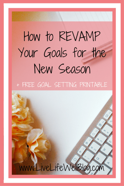 Spring is the season of change! Check out my tips on how to revamp your goals and align them with your passion.