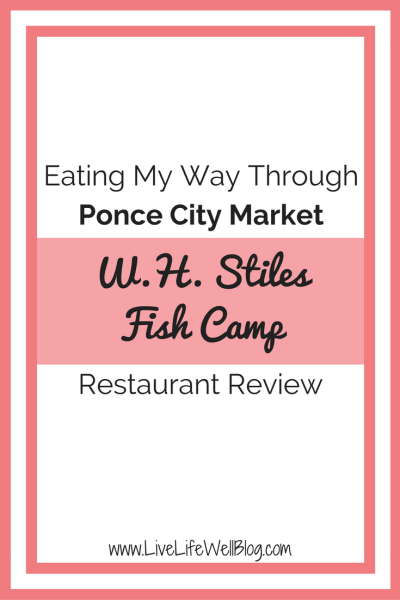 I'm on a mission to try and review every restaurant in Ponce City Market. Read all about my experience at Fish Camp on LiveLifeWellBlog.com