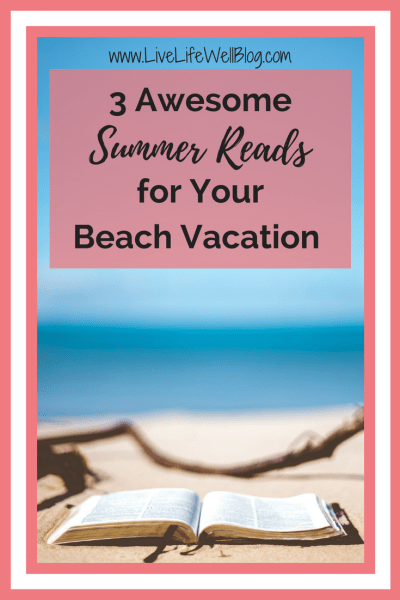 Who doesn't love lounging by the water with a drink in one hand and a good book in the other? These 3 awesome summer reads should in your beach bag!
