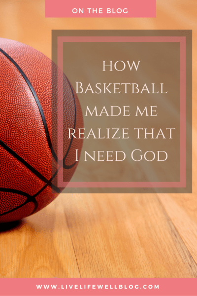 As the wife of a professional basketball player, for me, basketball equals uncertainty and uncertainty equals anxiety. Read all about how my husband's basketball career helped me to build a relationship with God.