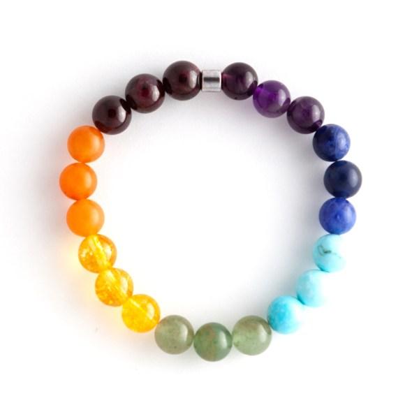 Chakra Stone Gemstone Bracelet