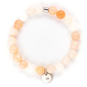 Pink Aventurine Gemstone Bracelet