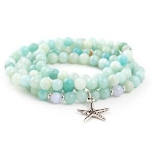 Amazonite 108 Bead Bracelet