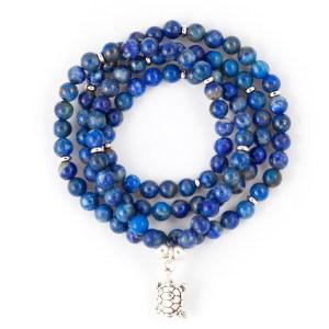 Lapis Lazuli 108 Bead Bracelet