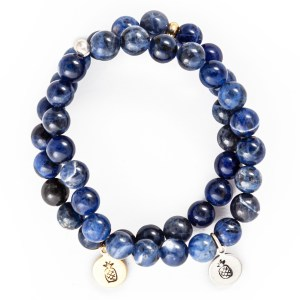 Sodalite Charm Bracelet