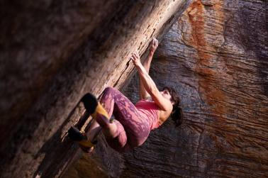 Alice Hafer, nomade arrampicata
