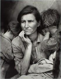 "Dorothea Lange ""Migrant Mother"" 1936"