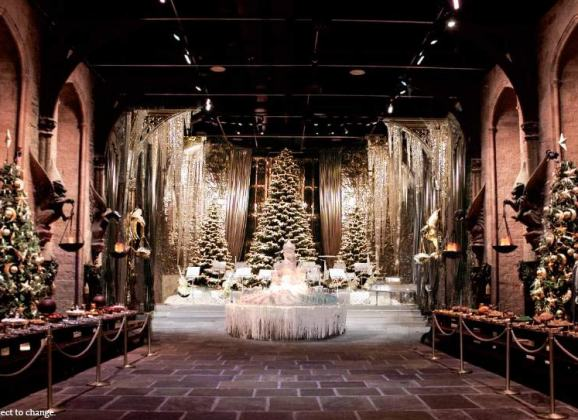 Hogwarts In The Snow: Nov 18th – January 28th at the Warner Bros. Studio Tour London