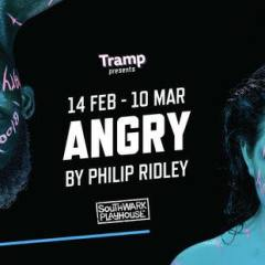 World premiere of Angry by Philip Ridley at Southwark Playhouse this February