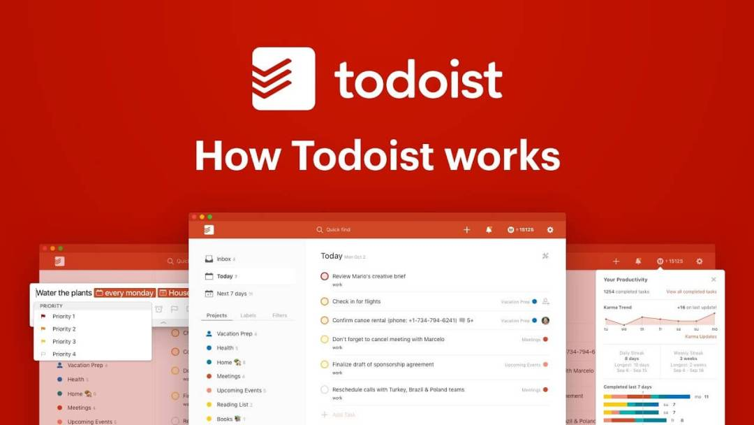 todoist is an app you can use to get things (everything) done