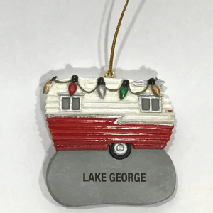 LAKE GEORGE CAMPER ORNAMENT