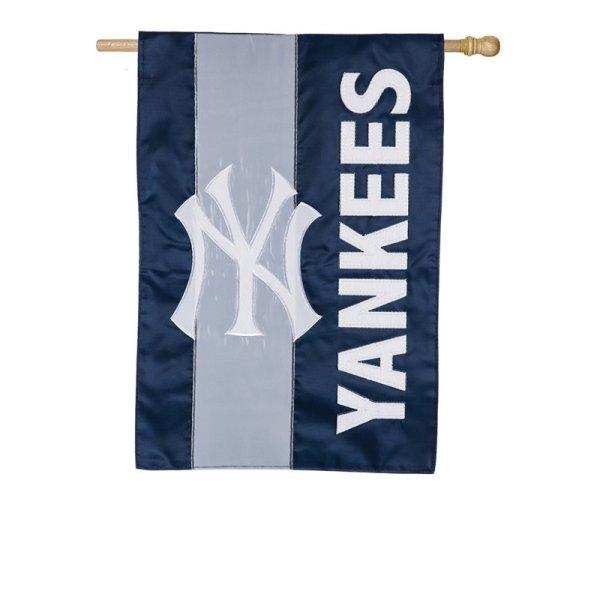 NY Yankees Embellish Reg Flag