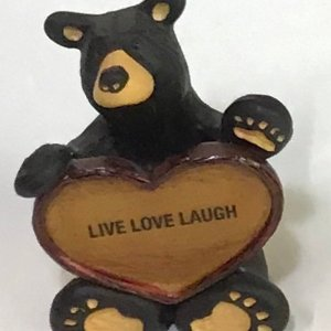 BEARS LOVE THIS PLACE MINI FIGURINE